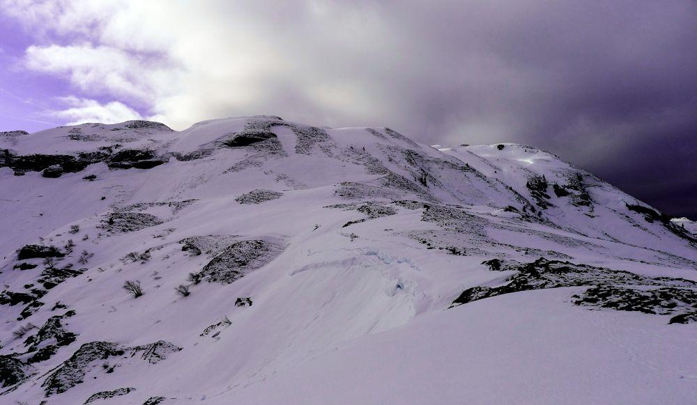 Laderas de subida hacia el plateau Lescaumère