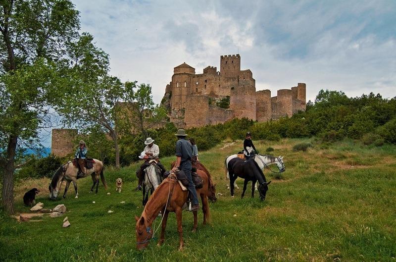 ruta caballos Loarre