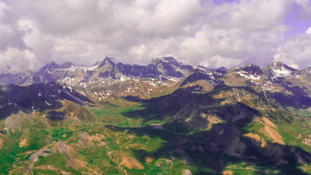 Vista de Punta Escarra y Pala de Ip