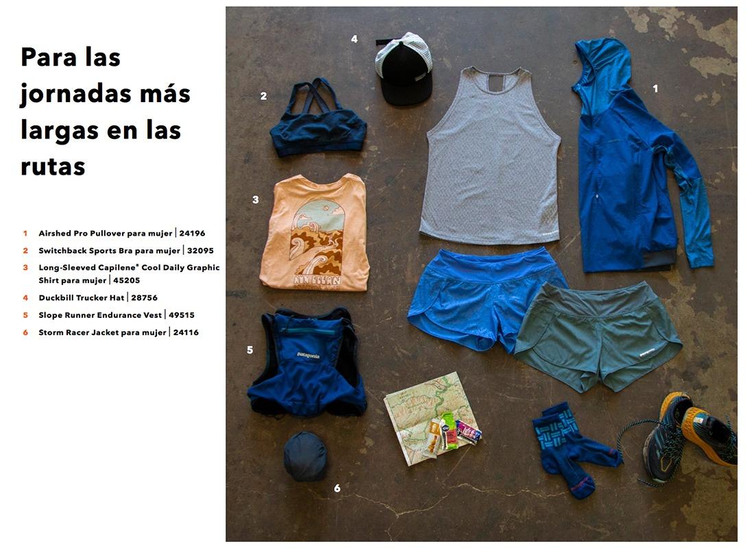 ropa trail running