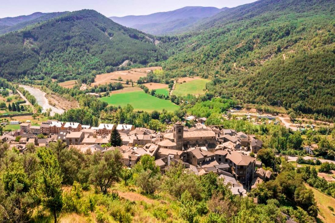 Boltaña pueblos pirineo