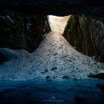 cueva hielo Pirineo Cima Norte