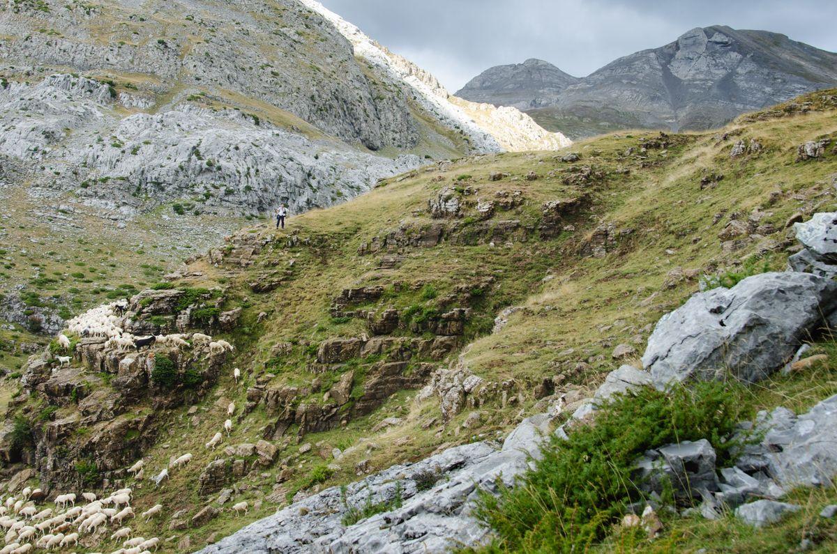 Vuelta a Aguerri fotogaleria pirineo valle de hecho cima norte