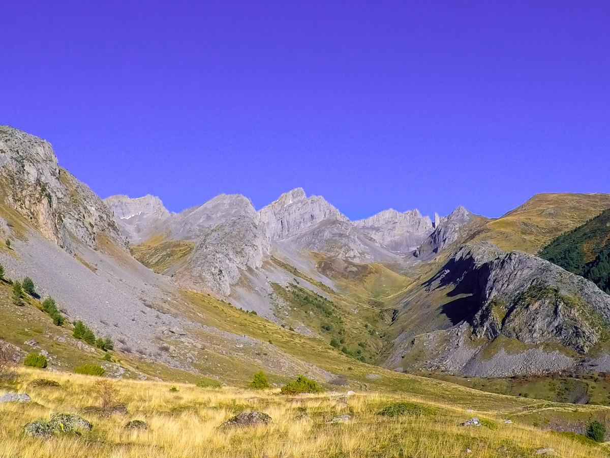 vistas pirineo occidental desde chipeta