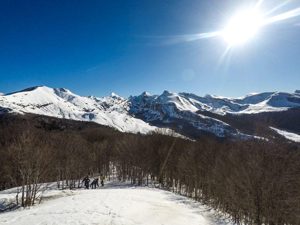 punta maz txamantxoia linza invernal invierno pico