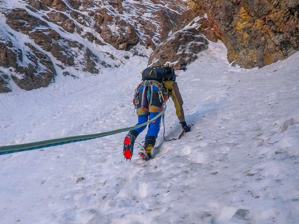 Corredor NO Pico del Águila rioseta canfranc