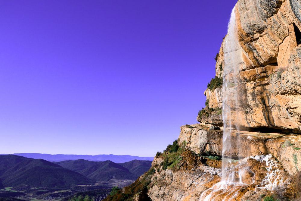 vistas del valle de basa