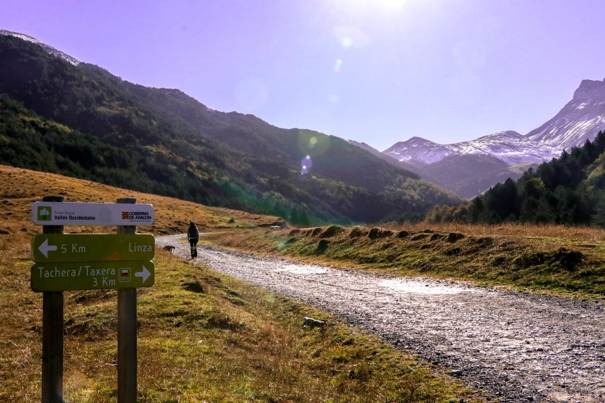 valle de zuriza ruta taxeras