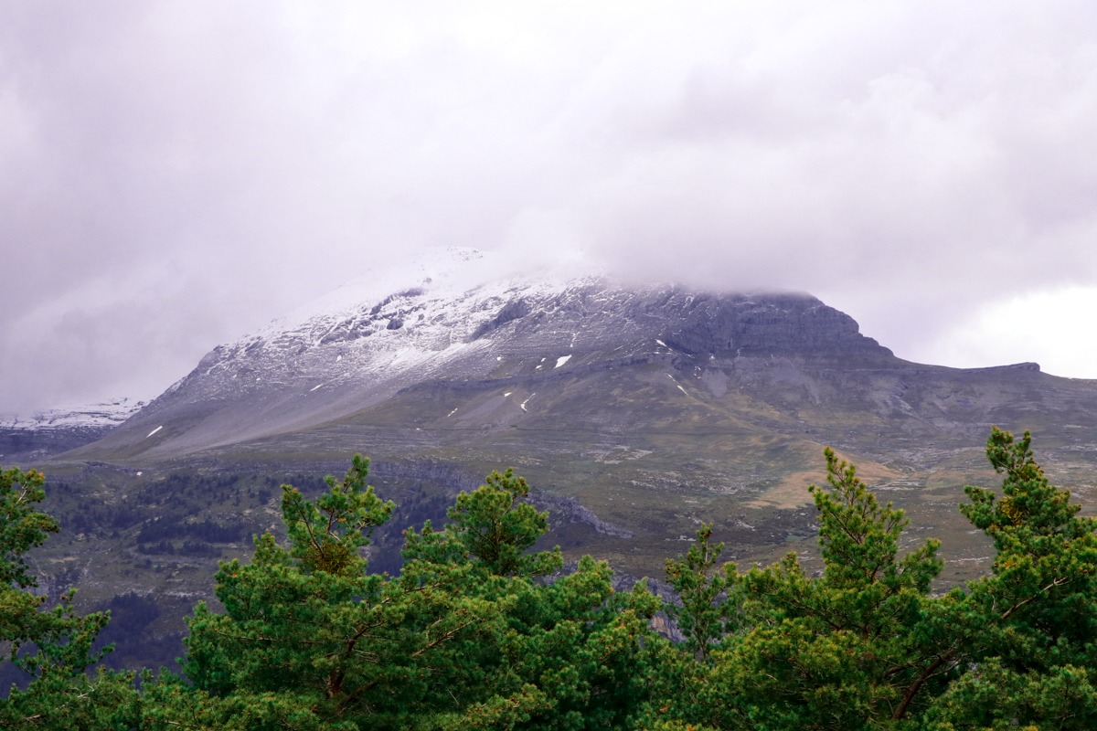 vistas de montaña