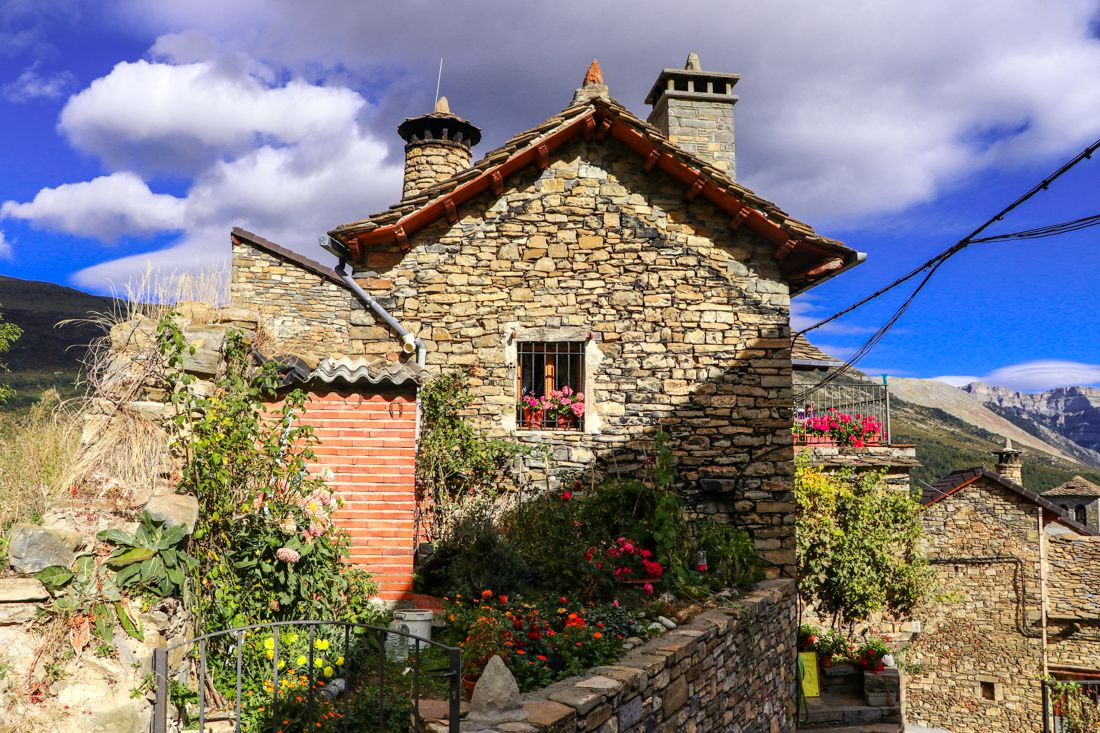 casa tradicional pirineo