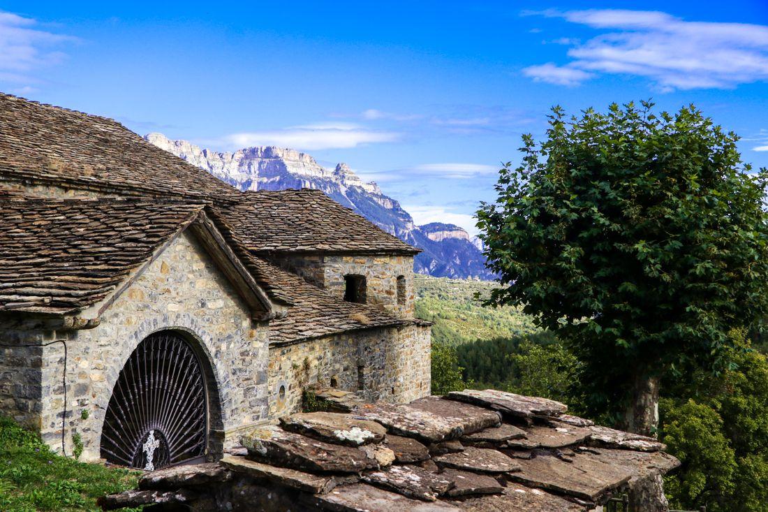 paseo fotografico fanlo pueblos sobrarbe pirineo