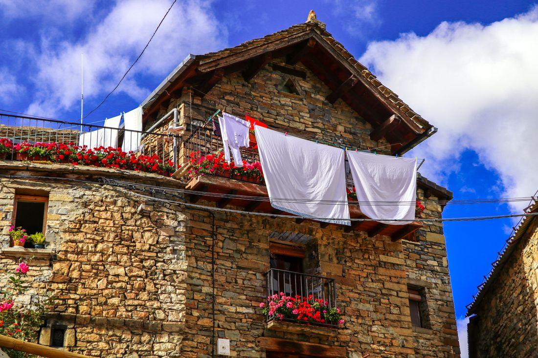 casa tipica pirineo