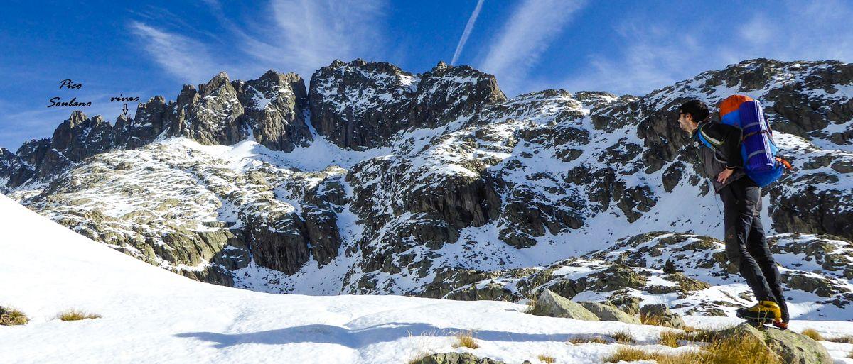 Arista de los Diablos en el macizo del Balaitus cima norte pirineo