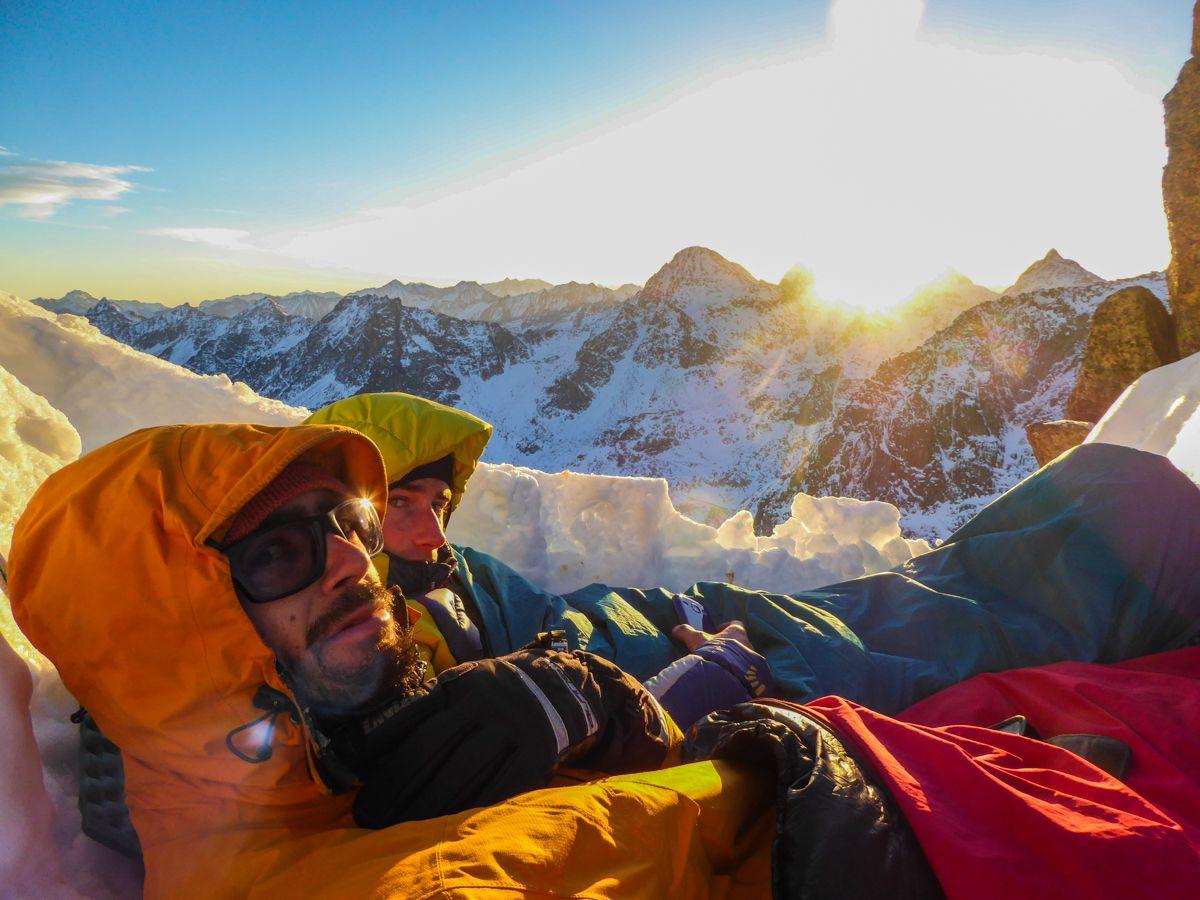 vivac invernal pirineo