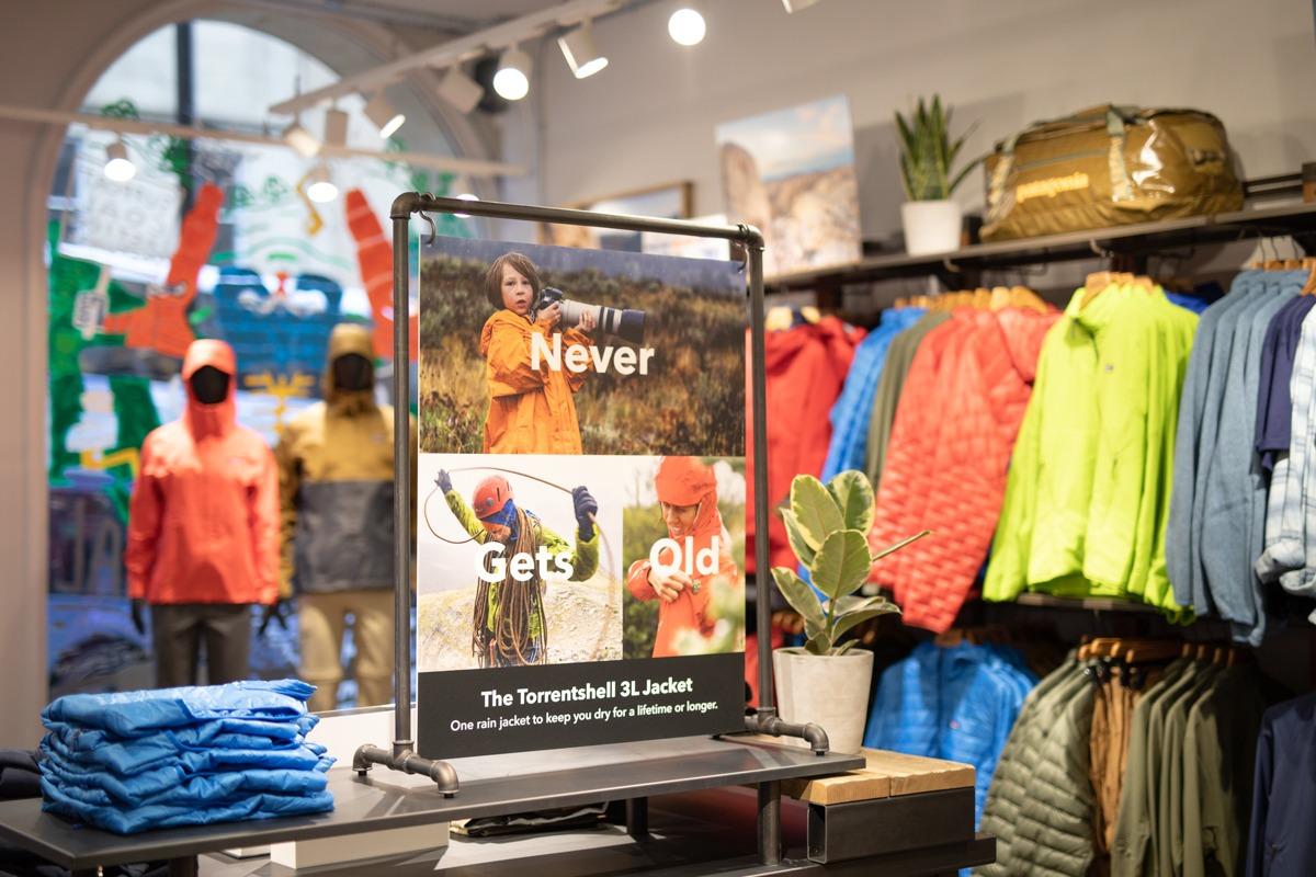 tienda ropa montaña patagonia