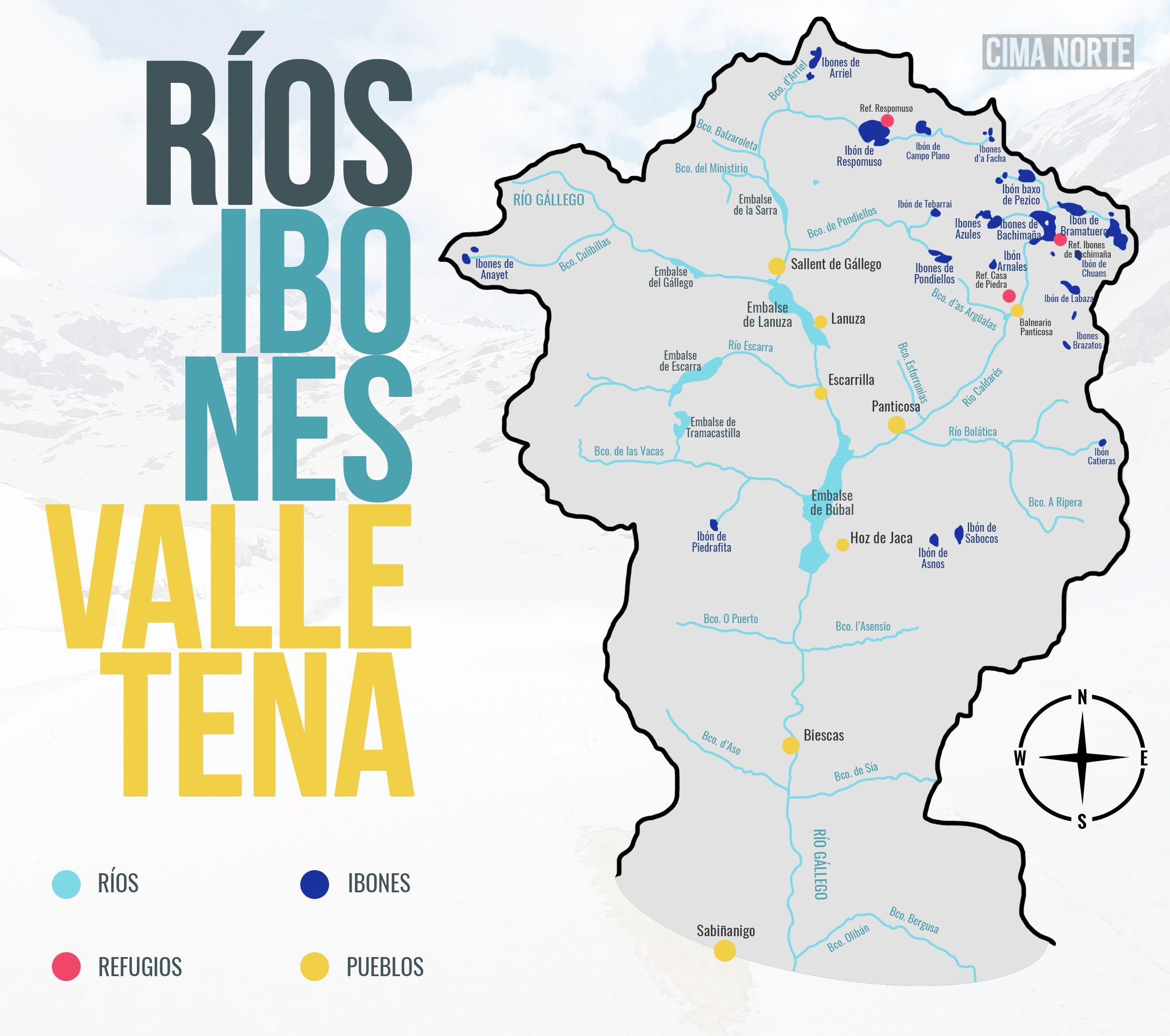 RIOS IBONES VALLE DE TENA