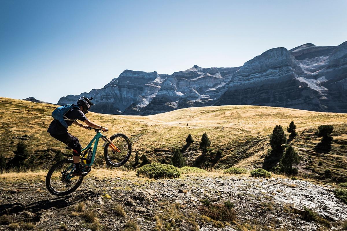 Trans-Nomad carrera btt enduro pirineos