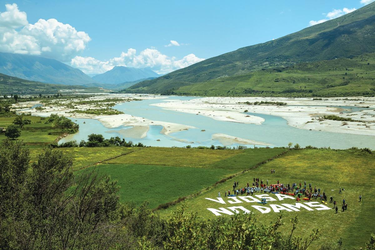 vjosa forever rio más grande de europa