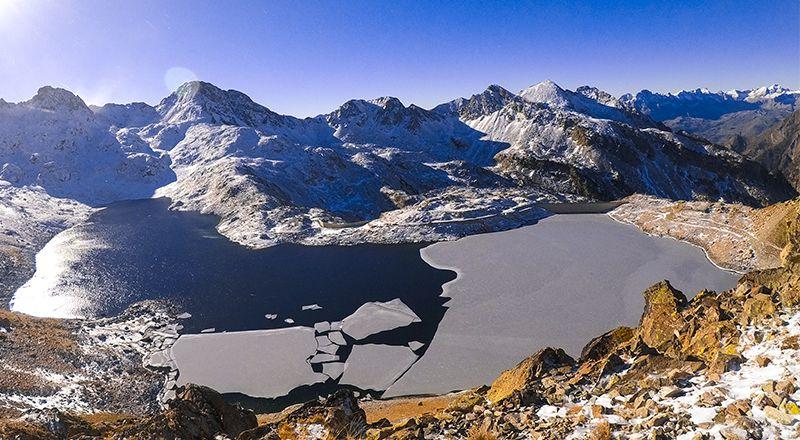 cambio climatico pirineo ibones cima norte agua pirineo