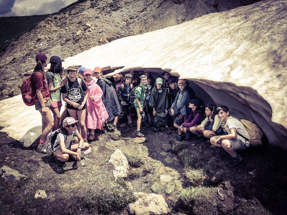 campamento pirineo