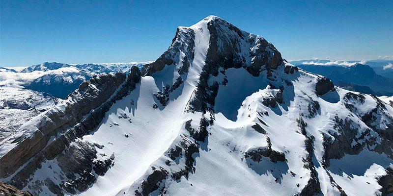 monte perdido invernal cimas altas del pirineo