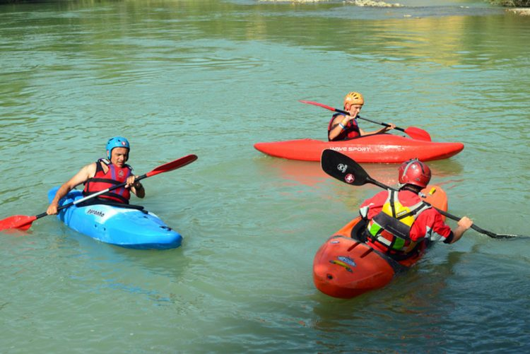 kayak rio gallego