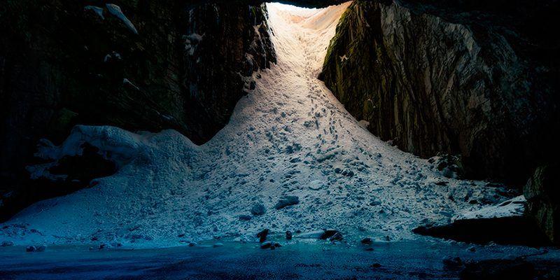 cuevas de hielo Pirineo Cima Norte
