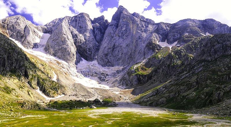 donde se ecnuentran los glaciares del pirineo