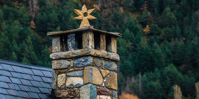 Espantabruxas en as chamineras d'o pirineo espantabrujas pirineo chimenea