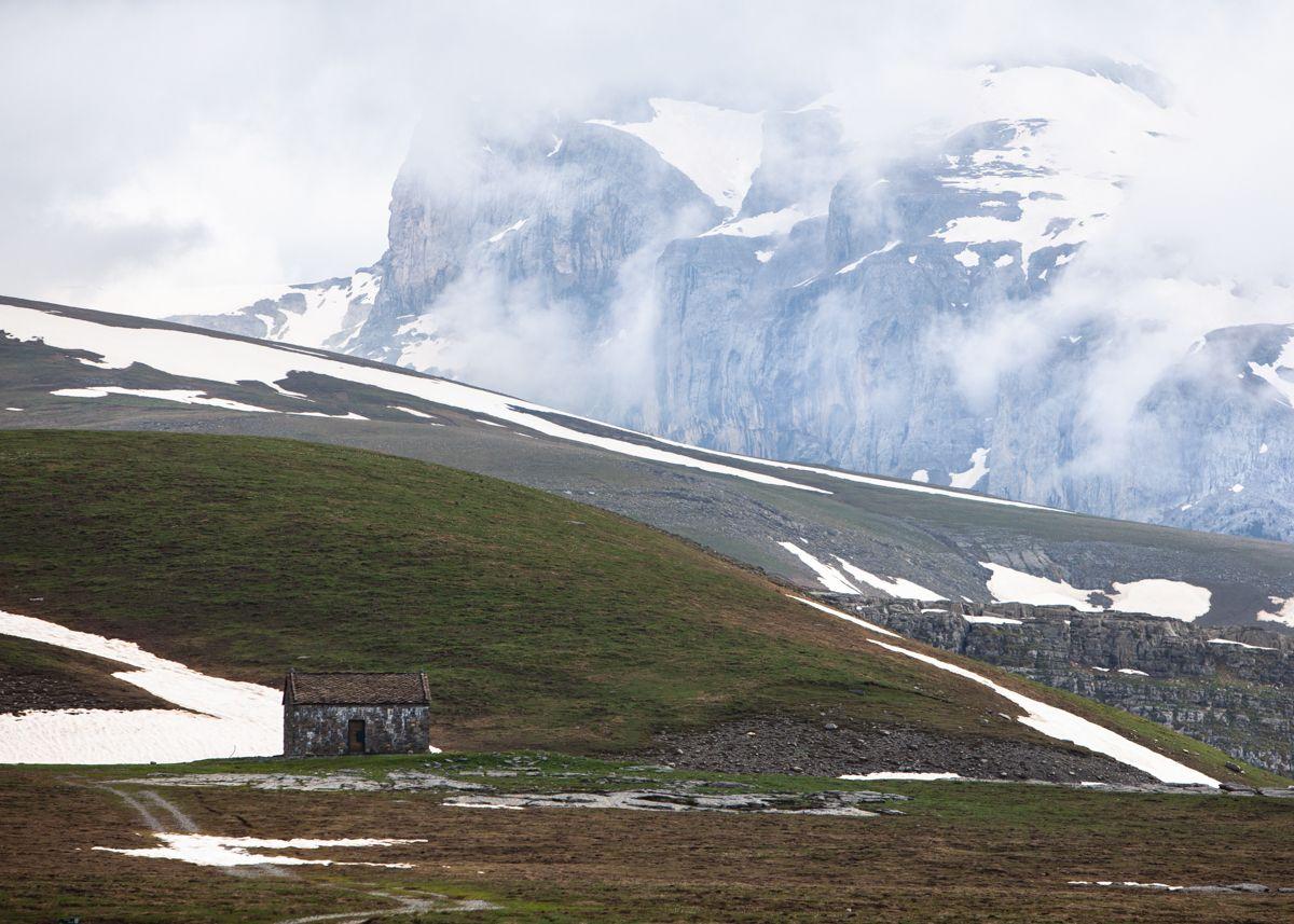 paisaje Clima de alta montaña en el Pirineo Central