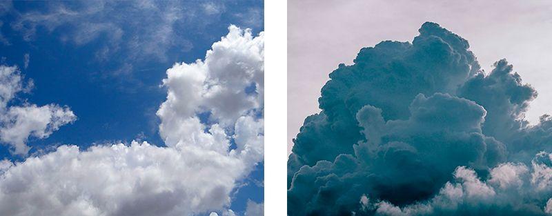 nubes bajas