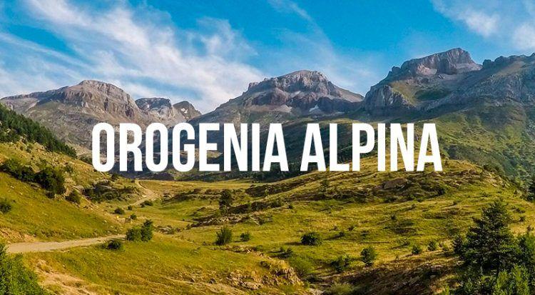 orogenia alpina curiosidades