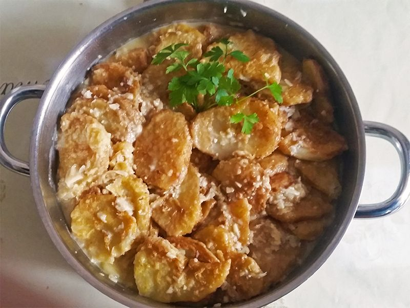 patatas albardadas receta importancia