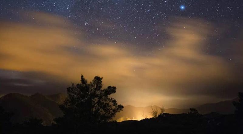 pirineos la nuit cima norte