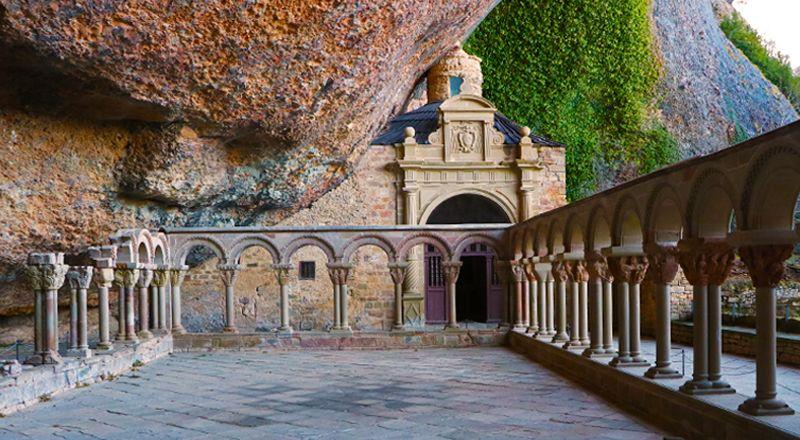 claustro san juan de la peña monasterio cima norte destinos