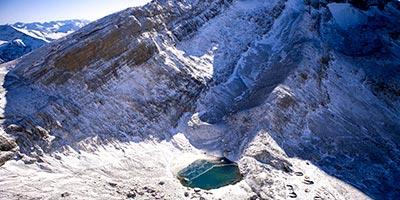 ibones chelaus del Pirineo